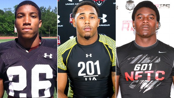Marlon Humphrey, Gerald Willis, Bo Scarborough