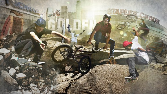 X Games Gold Illustration