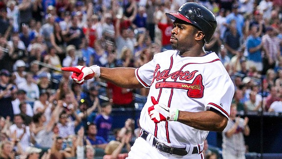 Michael Bourn Bravos Atlanta