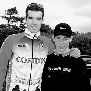 David Millar and Mark Cavendish