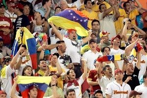 Venezuela fans