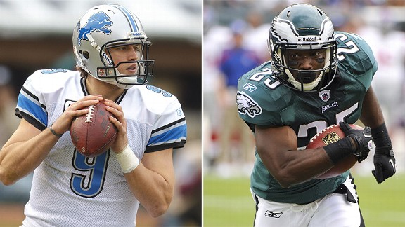 Matthew Stafford/LeSean McCoy