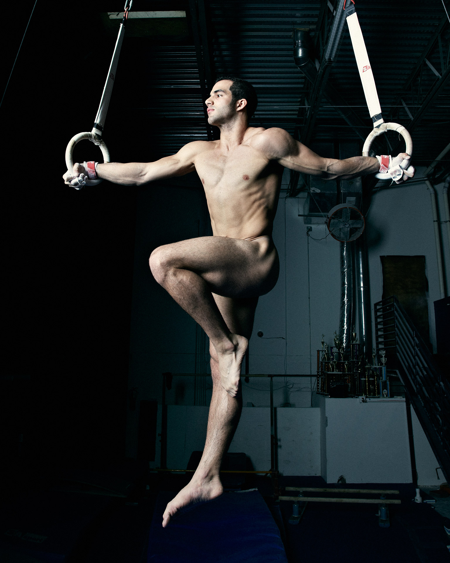 naked male circus photo