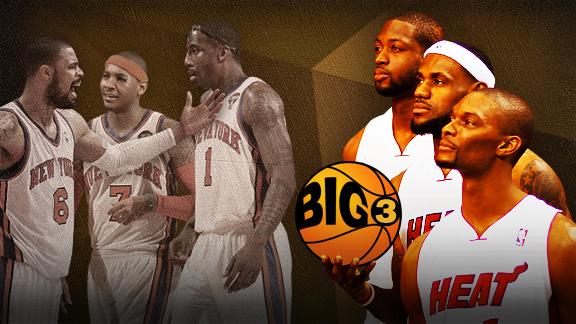 NBA Big 3 New York Miami