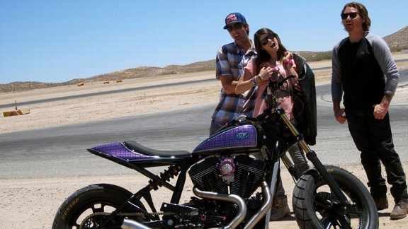 Travis Pastrana, Lyn-z Adams Hawkins, Roland Sands