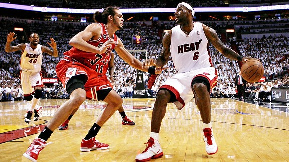 Joakim Noah, LeBron James