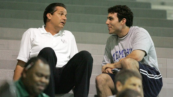 John Calipari and Josh Pastner