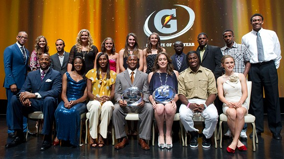 Gatorade Players of the Year 2012