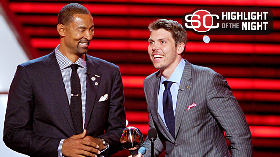 Juwan Howard and Mike Miller