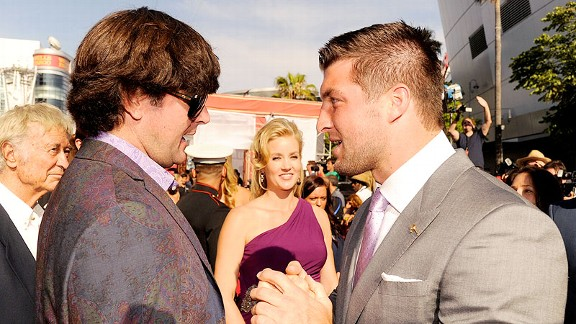 Bubba Watson and Tim Tebow