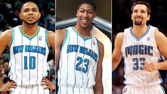Eric Gordon/Anthony Davis/Ryan Anderson