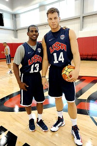 Chris Paul and Blake Griffin