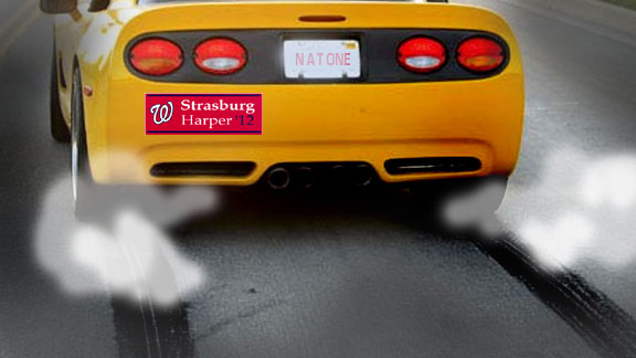 MLB bumper stickers