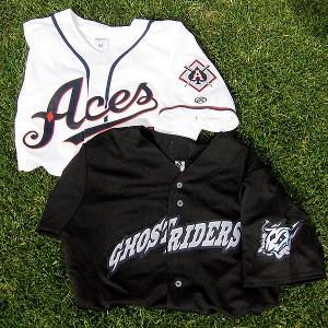 Reno Aces jerseys