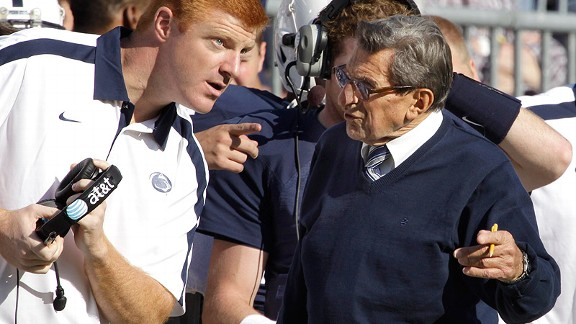 Mike McQueary/Joe Paterno
