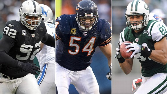 Richard Seymour/Brian Urlacher/Dustin Keller