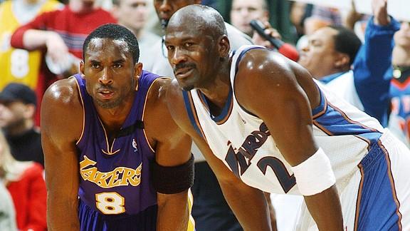 Kobe Bryant & Michael Jordan