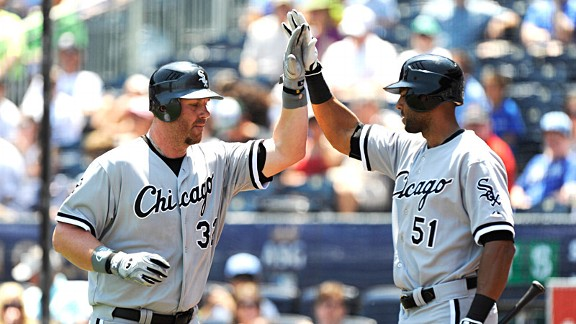 Adam Dunn and Alex Rios
