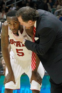 Mark Gottfried and C.J. Leslie