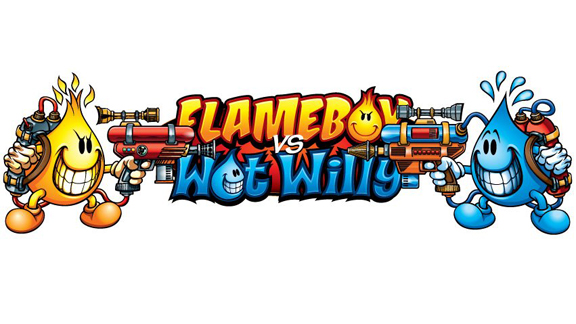 Flameboy vs. Wet Willy will focus on a younger skate demographic.