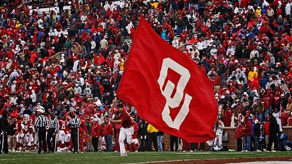 Oklahoma Sooners spirit squad