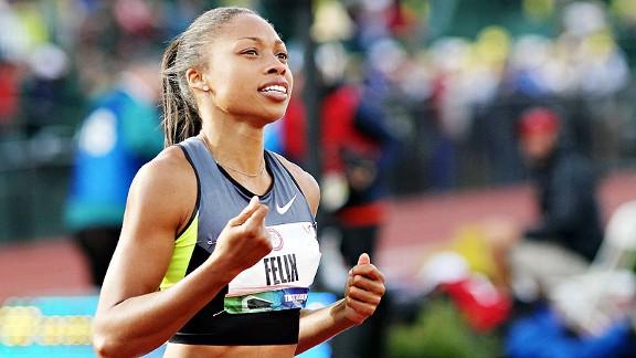 Allyson Felix atleta