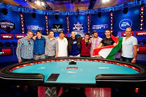 WSOP Main Event Final Table