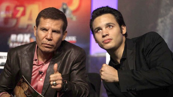 Julio Cesar Chavez Sr. and Julio Cesar Chavez Jr.