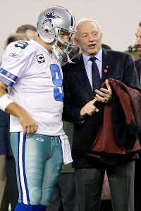 Tony Romo and Jerry Jones
