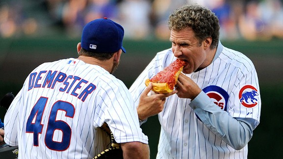 Will Ferrell and Ryan Dempster