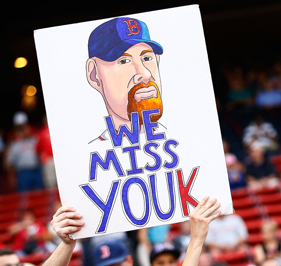 Kevin Youkilis sign