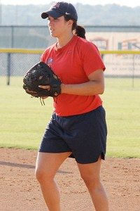 Valerie Arioto's hot bat and power hitting caused college teams to pitch around her with regularity, but the loaded Team USA lineup doesn't afford that option.