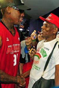 Dennis Rodman, Philander Rodman Jr.