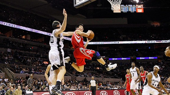 NBA -- Jeremy Lin Six Degrees Of Separation, Houston Rockets