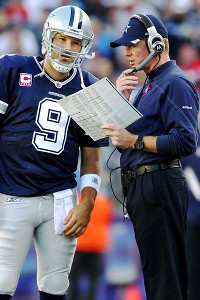 Tony Romo, Jason Garrett
