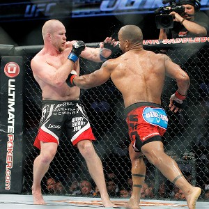 Tim Boetsch and Hector Lombard