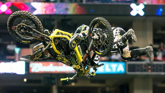 Kyle Loza X Games Motocross High Jump