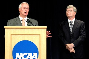 Mark Emmert and Ed Ray