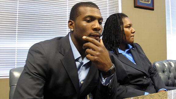 Dez Bryant and his mother, Angela Bryant