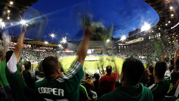 Portland Timbers fans