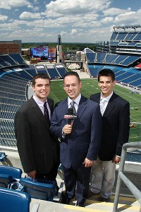 Mike Rodak, Mike Reiss, Field Yates.