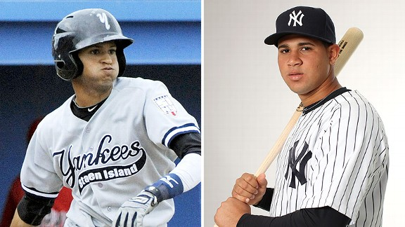 Mason Williams, and Gary Sanchez