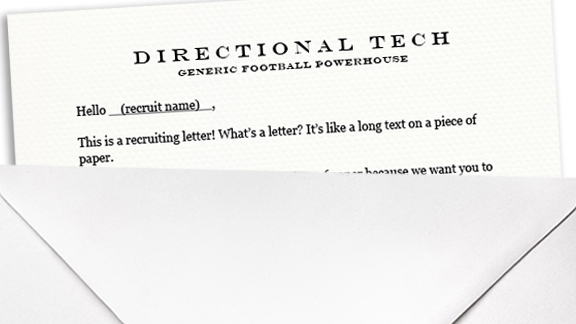 Recruiting letter
