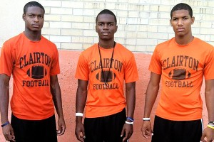 Titus Howard, Terrish Webb, Tyler Boyd