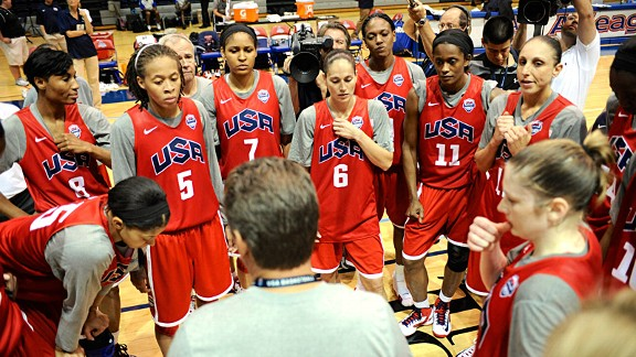 USA Women's Basketball Team