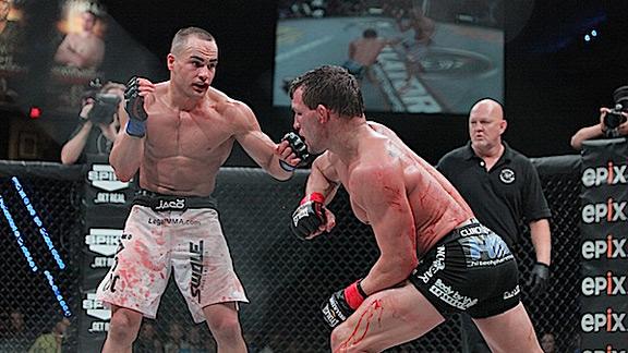 Eddie Alvarez versus Michael Chandler