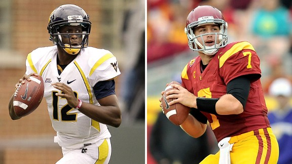 Geno Smith, Matt Barkley