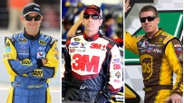 Matt Kenseth, Greg Biffle and Carl Edwards