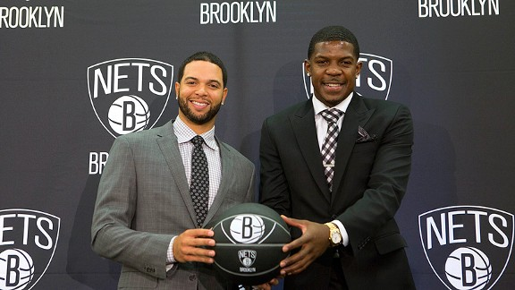 Deron Williams and Joe Johnson