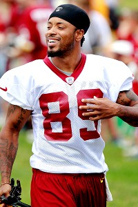 Washington's Santana Moss